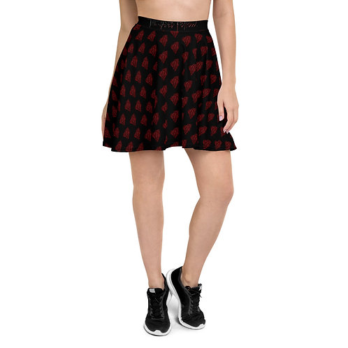Jaded Carving Pattern Skirt