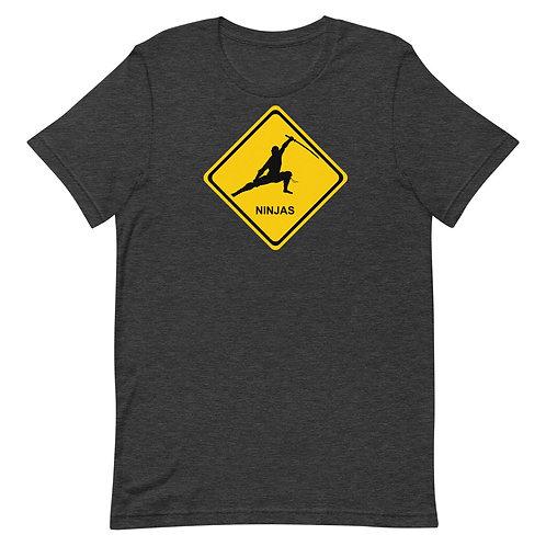 Warning: Ninjas shirt
