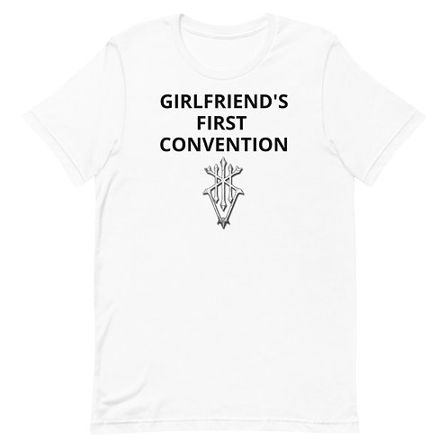GIRLFRIEND'S first Con Unisex T-Shirt