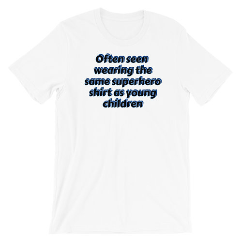 Superhero shirts Short-Sleeve Unisex T-Shirt