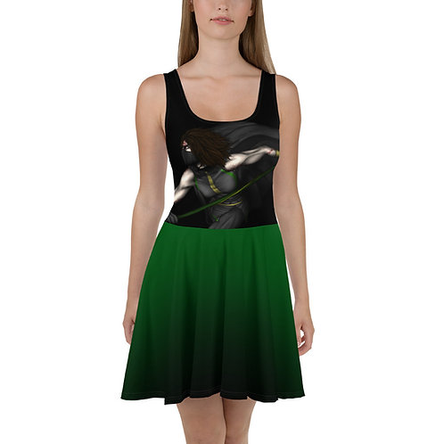 Jade Skater Dress