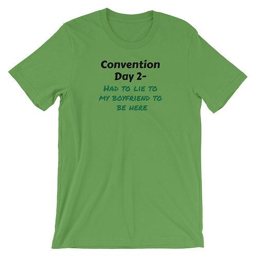 Con Day 2 Boyfriend Short-Sleeve Unisex T-Shirt