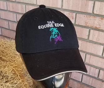 T.H.E. Equine Edge Grazing Bit Logo Cap