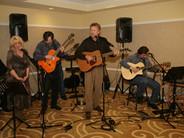 Chris Samson performs with Pamela Joyce, Steve Della Maggiora, John Lonacker and Gary Grubb at the Sheraton Petaluma Hotel, 2008.