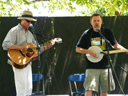 Rich and Chris Samson at the Kate Wolf Memorial Music Festival, 2005.