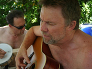 Rich and Chris Samson at the Kate Wolf Memorial Music Festival, 2006.