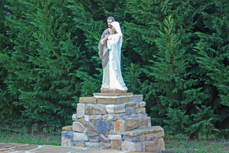 Prayer Garden - St Vincent de Paul Catholic Church - Dallas GA
