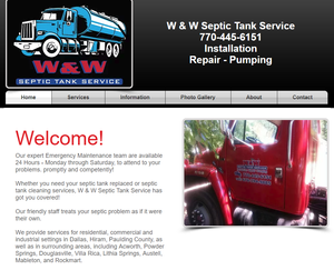 W&W Septic Services