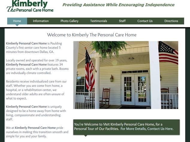 Kimberly Personal Care Home Dallas GA Paulding County