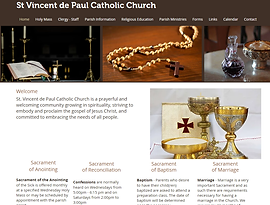 St Vincent de Paul Catholic Church Dallas Hiram Paulding County Archdiocese of Atlanta