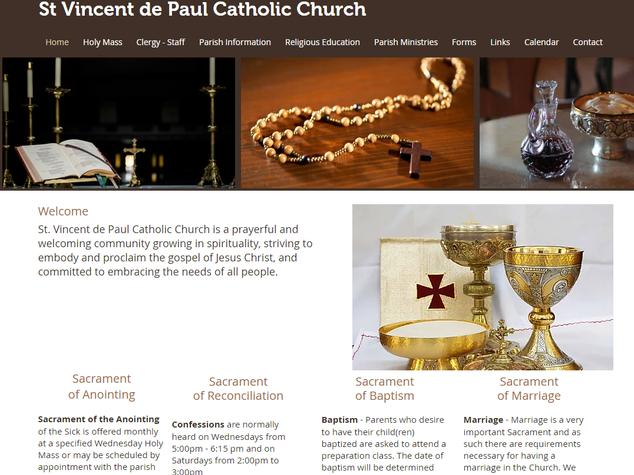 St Vincent de Paul Catholic Church Dallas GA Paulding County