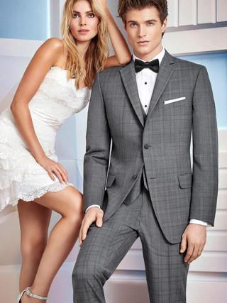wedding-suit-grey-plaid-ike-behar-hamilt