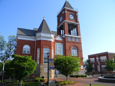 Historical Paulding County Courthouse