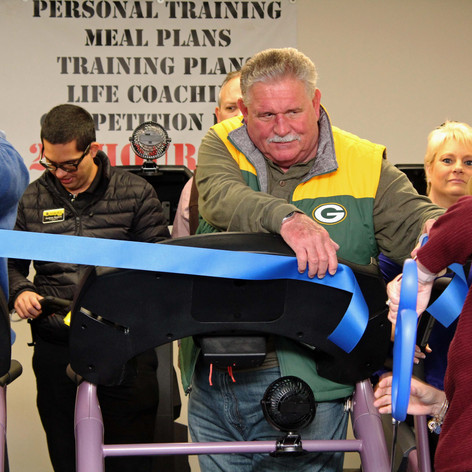 Ribbon Cutting - Paulding Chamber of Commerce |  Abb's Muscle & Fitness Gym | Dallas - Paulding County GA