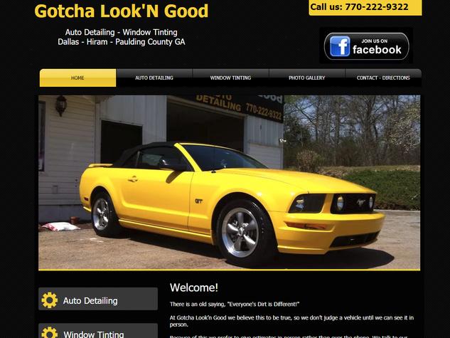 Gotcha Look'n Good Auto Detailing Window Tinting