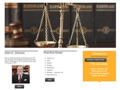Glen E Stinson Attorney at law dallas GA Paulding County