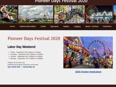 Pioneer Days Festival