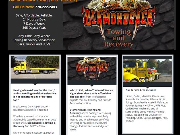 Diamondback Towing Recovery