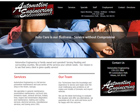 Automotive Engineering auto repair
