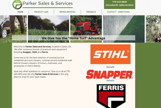 Parker Sales Services Stihl Snapper lawn care