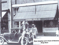 Boys hanging out in front of Dunaway Drug Store004.jpg