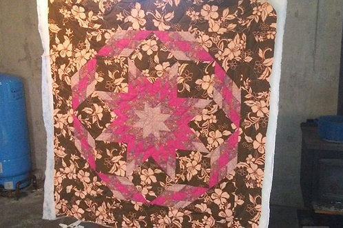 Double Star, Twin Size Quilt
