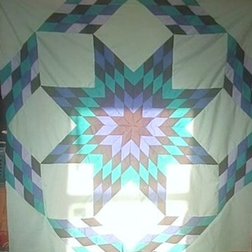 Double Star Full Size Quilt