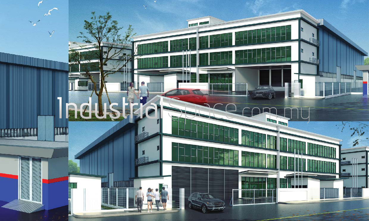 Telok Gong New Detached Factory For Sale