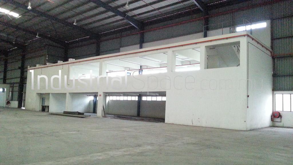Factory for rent telok gong