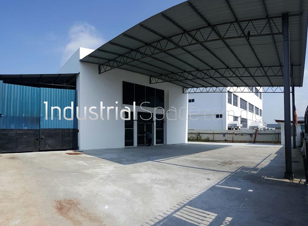 Factory Main Entrance