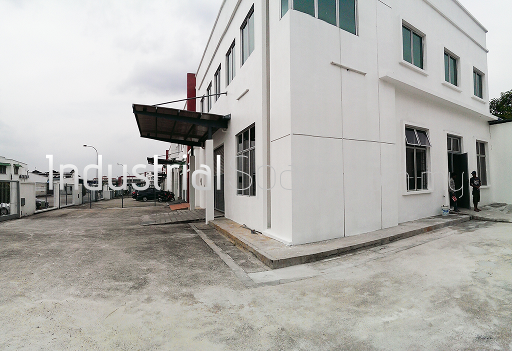 Outside Factory Space