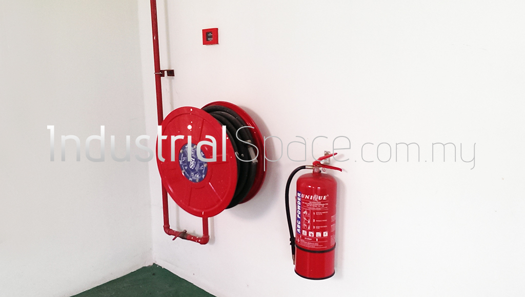 Fire Extinguisher & Water Hose