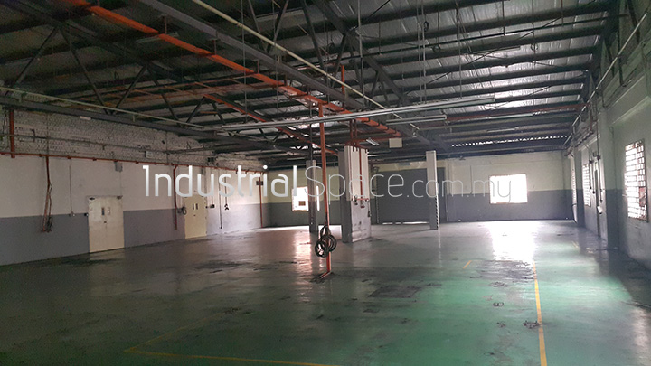 Factory for rent in shah alam