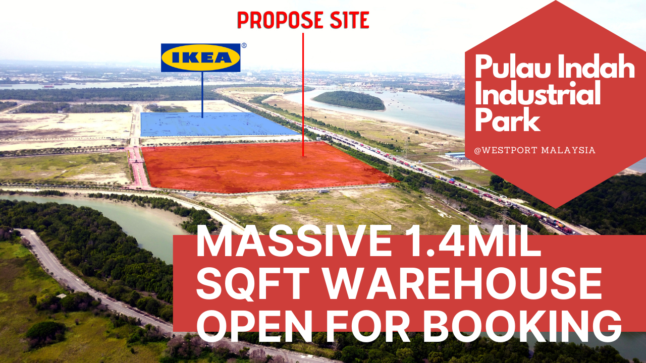 1.4mil Sqft Warehouse Space For Lease