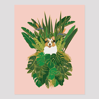 Jungle Dog | 11x14 Print