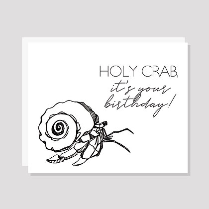 Holy Crab, It's Your Birthday!