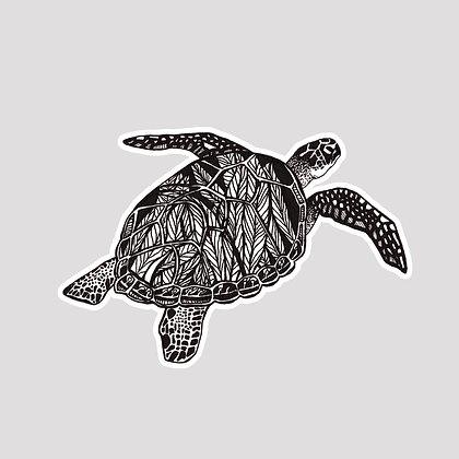 Sea Turtle VINYL Sticker