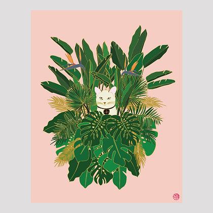 Jungle Cat | 11x14 Print