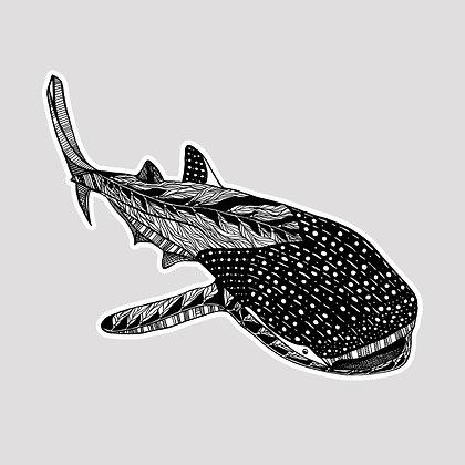 Whale Shark VINYL Sticker