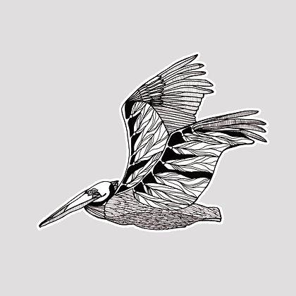 Pelican VINYL Sticker