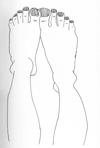 Twee voeten