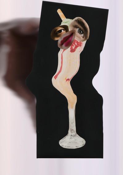 Ein Glacé