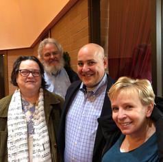 Ruth, Buzz, Jim and Karen
