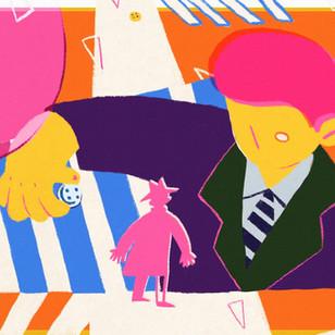 Queneau' Story: Retrograde