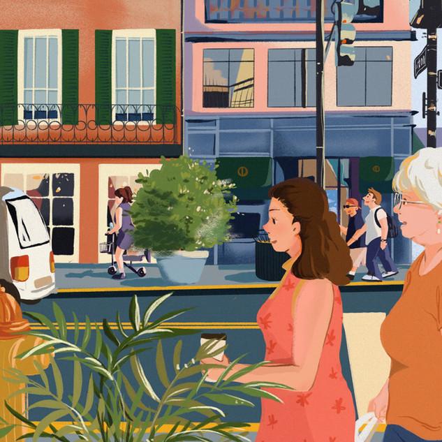 Street of Savannah