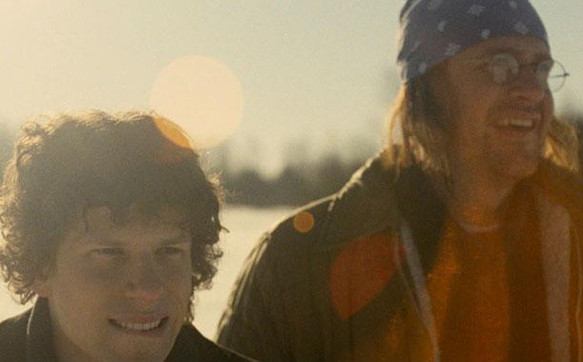 End of the Tour : Jesse Eisenberg and Jason Segel