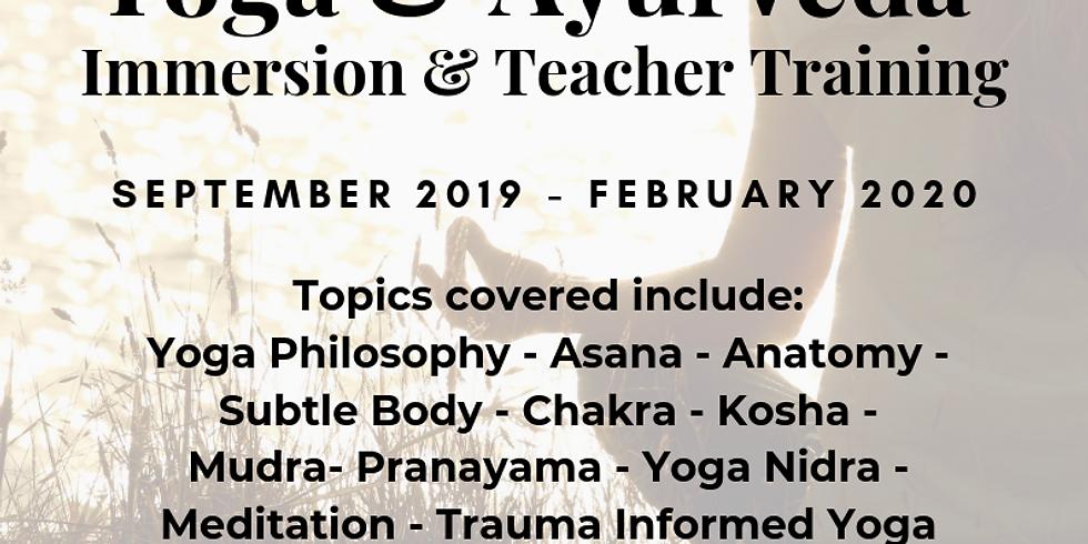 Open Day Sacred Return Yoga & Ayurveda Immersion and Teacher Training.