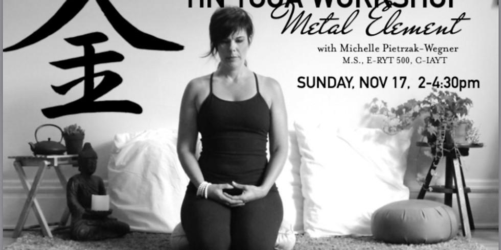 Yin Yoga Workshop with Michelle Pietrzak-Wegner