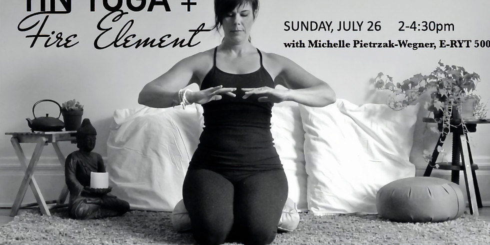 Fire Element Inspired Yin Yoga WS