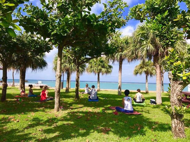 Araha Beach Yoga
